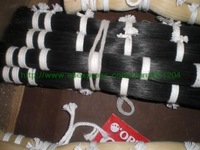 Black Horse hair 82cm 4bundles(1LBs/bundle), Mongolia Black bow hair unbleached