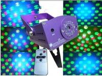 AC110Vto 240V mini laser light  show multi-pattern stage bubble Laser light projector