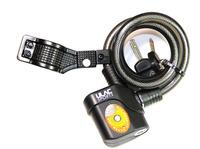 Bike lock cable Anvil ULAC alarm lock bicycle lock mountain bike bicycle accessories motorcycle anti-theft bike lock with alarm