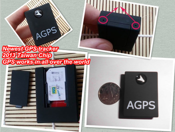 Free shipping  2013 newest Taiwan Chip GPS tracker Car/Personal GPS Tracker A6 track