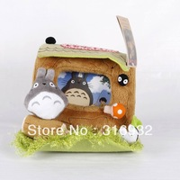 N2 Totoro desk plush photo frame, 1pc