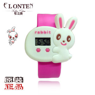 Elt 12 zodiac table tape measure table ladies watch zodiac rabbit tape measure table child table(China (Mainland))