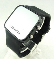 Electronic watch jelly lovers watch fashion led mirror table the trend of fashion table