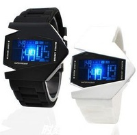 Watch lovers table led electronic watch colorful luminous multifunctional fighter mens watch