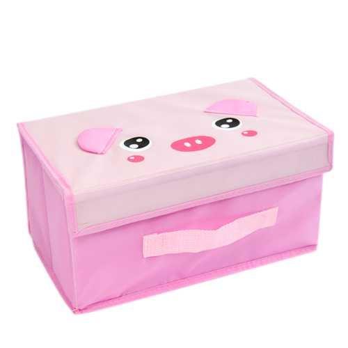 cute animal small Storage Box sorting box pink pig(China (Mainland))