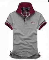 free shipping 2014 Mens Short Sleeve fashion Shirstyle  cotton t shirt for men printing men's tshirt 58