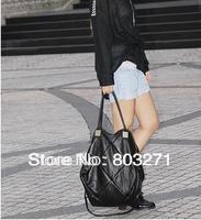 PU Leather large capacity handbag one shoulder cross-body women's multi-purpose handbag Free Shipping