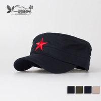2015 Pentastar red nostalgic cadet military cap male women's fashion outdoor cap