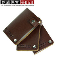 Hot Sale!! New Fashion Men Card & ID Holder Name Card Holder Card Bag Free Shipping