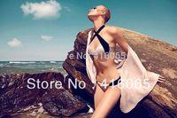 2015 New fashion strappy Bikini Sexy Women & Girl  bikini Set VS Brand Swimwear pink with blue Swimsuits  Beach Wear Swimmers