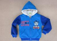 2013  Thomas&Friends  boy sweater qiu dong thickening child sherpa coat
