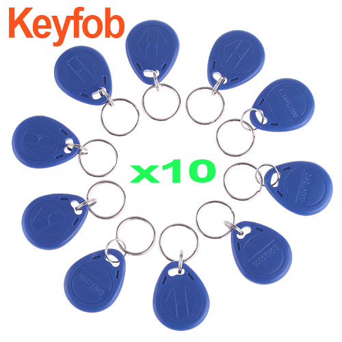 10 pcs IC Identification Door Entry Access Key Keyfob Card ,freeshipping dropshipping(China (Mainland))