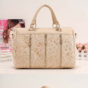 HOT SALE !!Korean Women Lace Bag Sexy Shoulder Purse Handbag Tote Bags Boston free shipping wholesale and 100-20