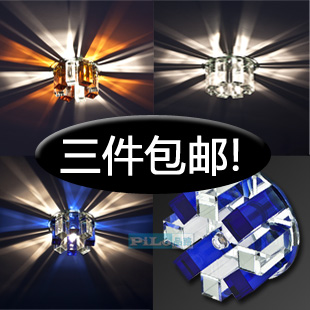 Led crystal aisle lights lighting brief entranceway balcony ceiling light lamps