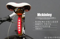 Bicycle rear light New Cycling Bike Bicycle 5 LED Taillight Safety Warning Lamp Rear Light 4 Modes