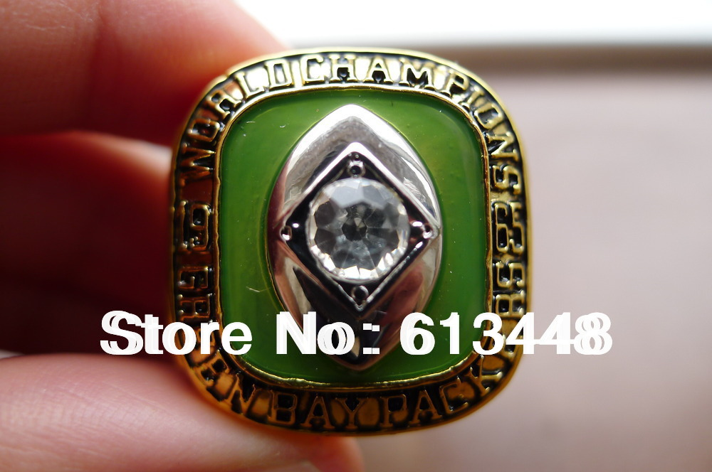 GREEN BAY PACKERS 1965 NFL RING CHAMPIONSHIP RING SZ 10 JERSEY GEMS FREE SHIP(China (Mainland))
