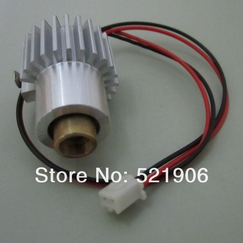 Tiangreen hot 532nm100mW Green laser module/laser diode/laser lighting with heatsink no Driver(China (Mainland))