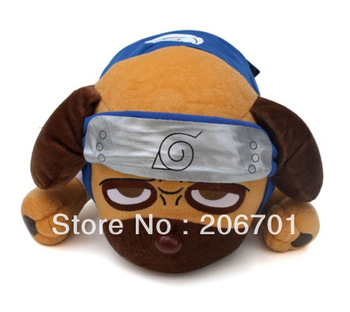 Pretty Anime Naruto Kakashi Pet Parker Dog Soft Doll Toy Free Shipping Best Gift xzy-67
