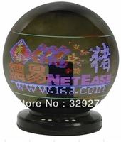 Free shipping LED magic digit Mira ball map Acrylic With remote control ZH-400C56 Advertising gifts 8 Colors Diameter 40cm