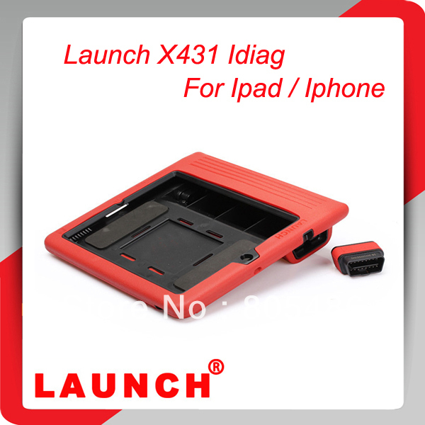 Launch X431 Auto Diag Scanner for IPAD/Iphone intelligent Diagnosis Free online updated X-431 Auto Diag for Android Phone/Pad(China (Mainland))