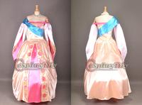 Free Shipping Custom-made Beautiful Anastasia Princess Costume Cosplay Princess Dress