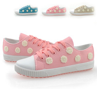 25 summer little daisy female canvas shoes low shoes sport shoes casual shoes women's skateboarding shoes