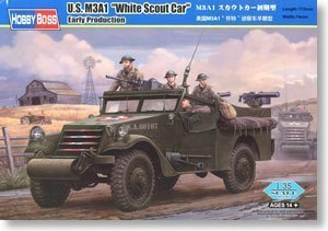 Hobby Boss 82451 1/35 U.S M3A1 White Scout Car Early Production