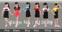 5PCS/lot&Free Shipping!6 colors 2013 girls summer dress,dress girl princess,dress girl princess baby girl summer dress
