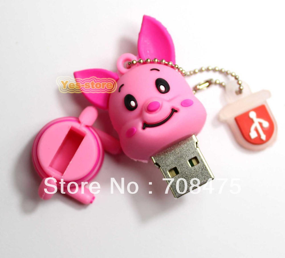 Pink Pig Memory flash USB Drive 1GB 2GB 4GB 8GB 16GB 32GB for choice+high level quality(China (Mainland))