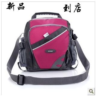 2013 sports one shoulder cross-body bag outdoor casual double bottle pocket kinetic energy travel bag(China (Mainland))