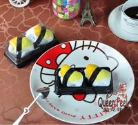 Creative Japanese sushi lovers cake towel Christmas wedding birthday gift 5case/lot free shipping