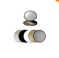 round collapsible 5 in 1 multi disc light reflector 24in 60cm