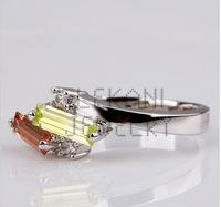 Korean ring brand Korean fashion jewelry simple fashion crystal jewelry wholesale R111
