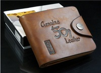 Free shipping hot sale man leather wallet, leather wallet man,man leather purse  ,1pce wholesale, quality guarantee , TB-022