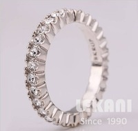 Crystal jewelry in Europe and America Lord of the Rings boutique rings eternal love and wholesale R156