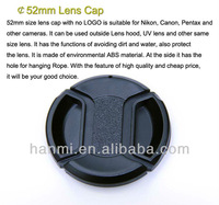 Free Shipping + Tracking Number 52mm Snap-on Front Lens Cap for Universal Brands Lens