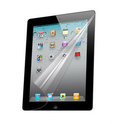 For apple accessories for ipad hd film ipad2 film screen protector scratch resistant film(China (Mainland))