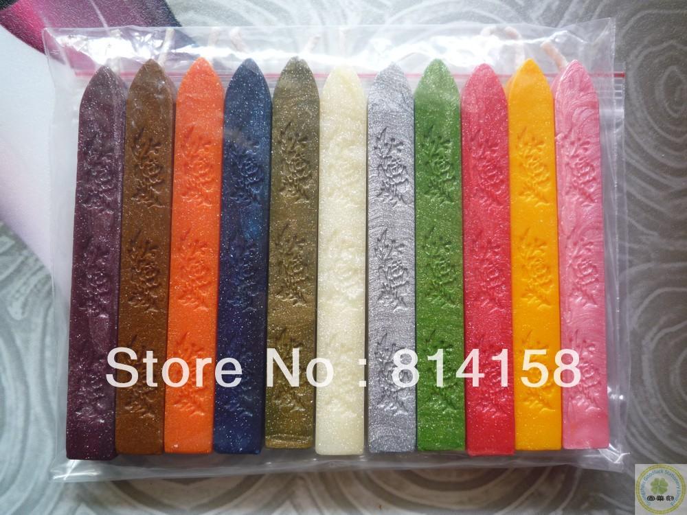 Ribbon sealing wax sticks with wick wholesalers/Envelop sealing wax sticks with wick wholesalers(China (Mainland))