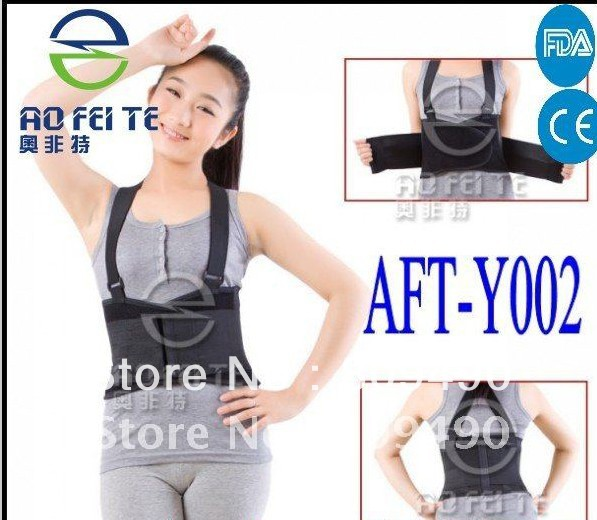Orthopaedic lumbar posture support/instruments AFT-Y002(China (Mainland))