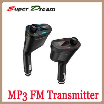 Whoklesale Advan Remote Control Car Kit Wireless FM Transmitter 360 Degree Rotation Modulator MP3 Player USB 2.0 SD SD MMC Slot