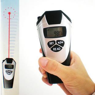 Promotion. New Black With Silver Handheld LCD Ultrasonic Laser Point Distance Meter Measure Tool. Free & Drop Shipping(China (Mainland))