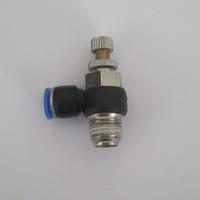 free shipping (20PCS/lot)  SL series Pneumatic Quick Connector exhaust valve SL6-M5 I.D 6MM thread  M5