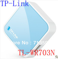 Free shipping! Mini TP-LINK TL-WR703N 150Mbps Wireless 3G Router external 802.11N wifi WR703N