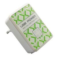 4 Port USB Power Wall Charger for Apple iPad 3rd 2 iPhone 4s 4 EU Plug