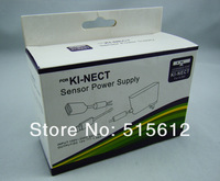 EU Plug,For KI-NECT Sensor Power Supply, Xbox Power Transformer,with retail package box