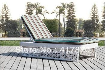 swimming pool rattan sun lounge outdoor furniture