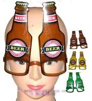 mens masquerade masks Masquerade supplies mask glasses beer glasses color