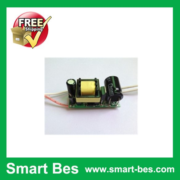 Free Shipping 10pcs/lot Smart Bes LED drive voltage 5-7X1W input voltage 110-220 - v Driver Adapter Power Supply(China (Mainland))