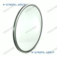 YOELEO Carbon Alloy Rim 24mm 700C Carbon Clincher Rim Alluminum Brake Front or Rear Rim 20H/24H
