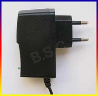 100 pcs EU 5V 1A 1000mA AC/DC POWER SUPPLY ADAPTER 5.5mm * 2.1mm + Free shipping